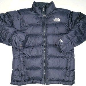 The North Face Boys 550 Puffer Down Jacket L 14/16